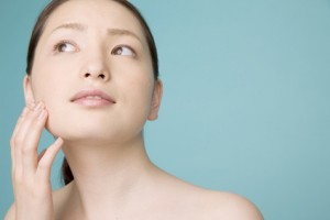 美容に気を使う女性